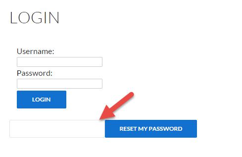 EZ WP Membership Members reset password box image